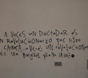 Rebelde con causa (Graffitti, El Rabal, Barcelona, juny 2011)