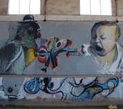 Niños invisibles (Graffitti, Sagunto, Valencia, Oct-2010)