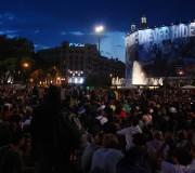 15M (Pl. Catalunya, Barcelona, 12-15 maig 2012)