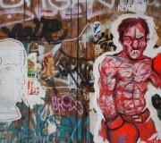 Emanar confianza (Graffitti, La Ribera, Barcelona, junio 2011)