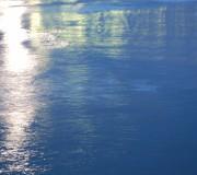 El reflejo de la luna llena (Sitges, gener 2011)