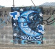 El cuento de la princesa silenciosa (Graffitti, St. Vicens del Horts, Ene 2011)