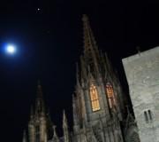 Luna llena... de invierno (Catedral, Barcelona, desembre 2012)
