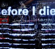 ¿Qué espera la vida de mí, ahora? (y II) (Grafitti, Els Encants, gener 2014)